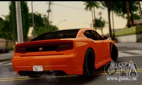 Bravado Buffalo S (HQLM) pour GTA San Andreas laissé vue