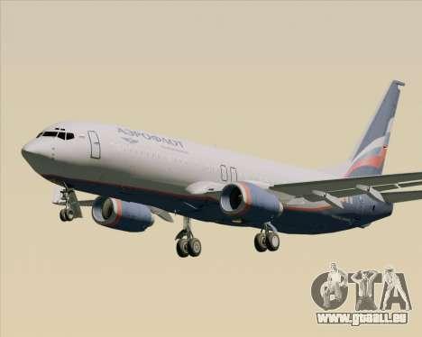 Boeing 737-8LJ Aeroflot - Russian Airlines pour GTA San Andreas vue de côté