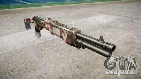 Ружье Franchi SPAS-12 injectés de sang pour GTA 4