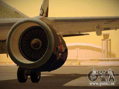 Airbus A321-232 jetBlue I love Blue York pour GTA San Andreas
