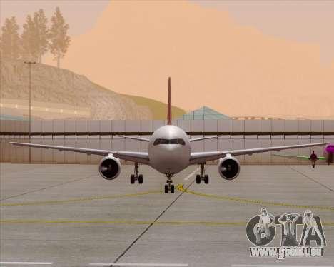 Boeing 767-300ER Qantas (Old Colors) für GTA San Andreas Innen