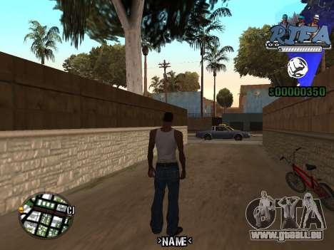 C-HUD Rifa für GTA San Andreas