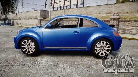 Volkswagen Beetle A5 Fusca pour GTA 4 est une gauche