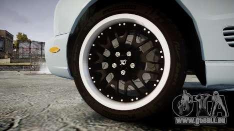 Bentley Arnage T 2005 Rims1 Black pour GTA 4 Vue arrière