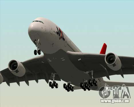 Airbus A380-800 Japan Airlines (JAL) pour GTA San Andreas roue