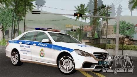 Mercedes-Benz E63 AMG 2014 ДПС pour GTA San Andreas