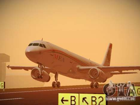 Airbus A321-232 Middle East Airlines für GTA San Andreas