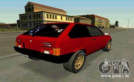 VAZ 2108 Turbo-ZUCKER für GTA San Andreas linke Ansicht