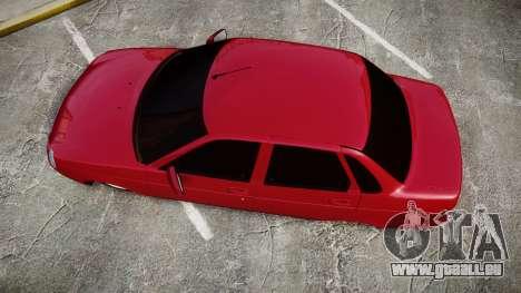 VAZ-2170 Priora roues en alliage pour GTA 4 est un droit