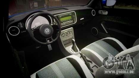 Volkswagen Beetle A5 Fusca pour GTA 4 est une vue de l'intérieur