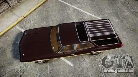 Oldsmobile Vista Cruiser 1972 Rims2 Tree5 pour GTA 4 est un droit