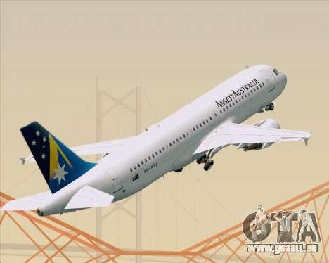 Airbus A320-200 Ansett Australia pour GTA San Andreas