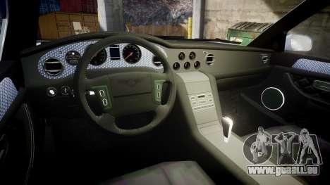 Bentley Arnage T 2005 Rims1 Black pour GTA 4 est une vue de l'intérieur