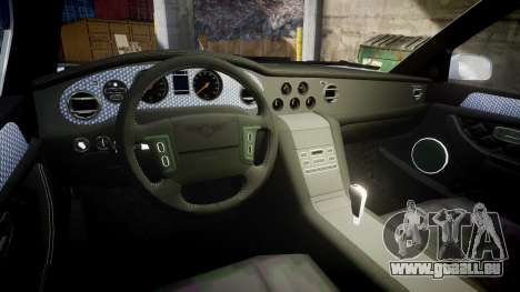 Bentley Arnage T 2005 Rims2 Chrome für GTA 4 Innenansicht