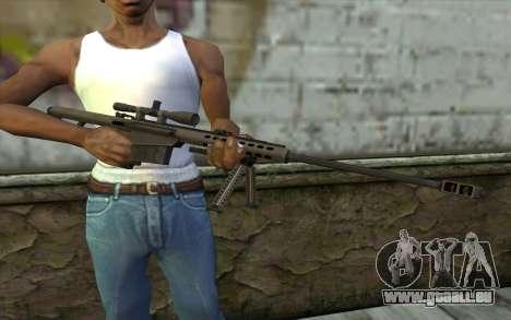 M107 für GTA San Andreas dritten Screenshot