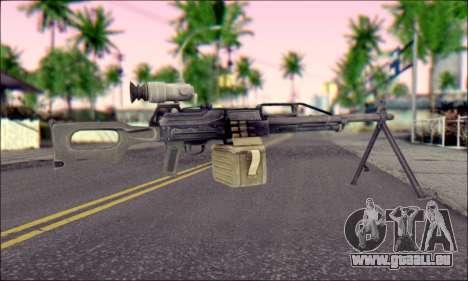 Panneau de contrôle Pecheneg (ArmA 2) pour GTA San Andreas deuxième écran