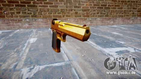 Pistolet IMI Desert Eagle Mk XIX Or pour GTA 4