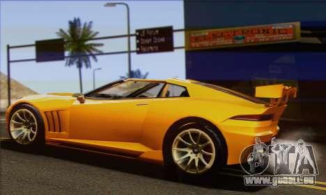 Invetero Coquette pour GTA San Andreas laissé vue