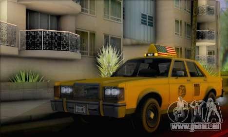 Willard Marbelle Taxi Saints Row Style für GTA San Andreas