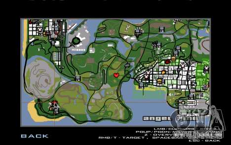 Nouveau CJ maison à Angel Pine pour GTA San Andreas cinquième écran