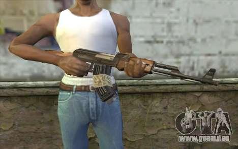 AK47 from Firearms v2 für GTA San Andreas dritten Screenshot