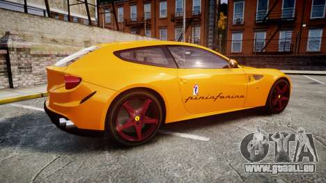 Ferrari FF 2012 Pininfarina Yellow für GTA 4 linke Ansicht