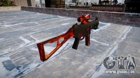 Gun UMP45 Speck für GTA 4 Sekunden Bildschirm