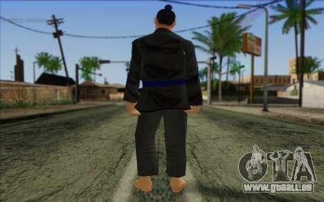 Membre de la brigade AI la Peau 4 pour GTA San Andreas deuxième écran