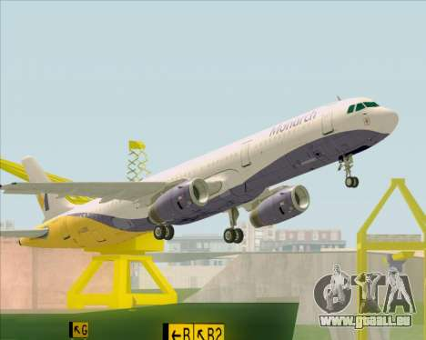 Airbus A321-200 Monarch Airlines für GTA San Andreas