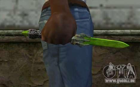 Glass Dagger für GTA San Andreas dritten Screenshot