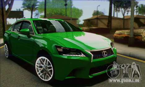 Lexus GS350 pour GTA San Andreas