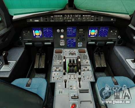 Airbus A321-200 Swiss International Air Lines für GTA San Andreas Innen