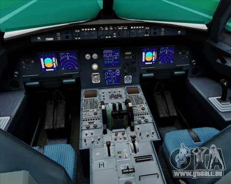 Airbus A321-200 Saudi Arabian Airlines für GTA San Andreas Innen