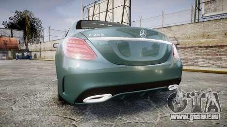 Mercedes-Benz C250 pour GTA 4 Vue arrière de la gauche