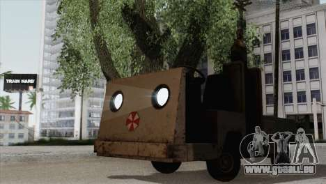 Umbrella Cart pour GTA San Andreas