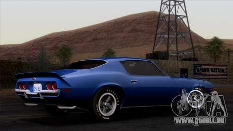 Chevrolet Camaro Z28 1970 (ImVehFt) für GTA San Andreas linke Ansicht