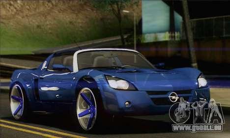 Opel Speedster für GTA San Andreas linke Ansicht