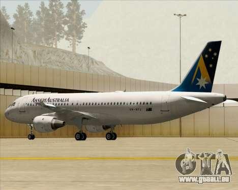 Airbus A320-200 Ansett Australia pour GTA San Andreas roue