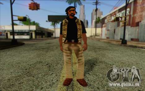 Yardies from GTA Vice City Skin 2 für GTA San Andreas