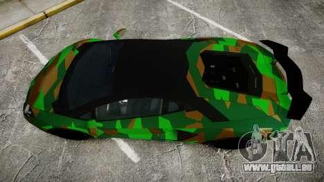 Lamborghini Aventador LP760-4 Camo Edition für GTA 4 rechte Ansicht