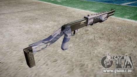Ружье Franchi SPAS-12 Tigre Bleu pour GTA 4 secondes d'écran