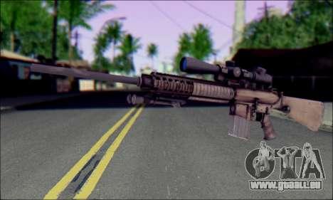 M110 avec un viseur Optique pour GTA San Andreas
