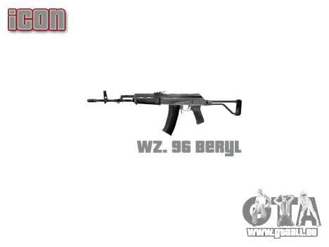 Maschine Wz. 96 Beryl icon3 für GTA 4 dritte Screenshot