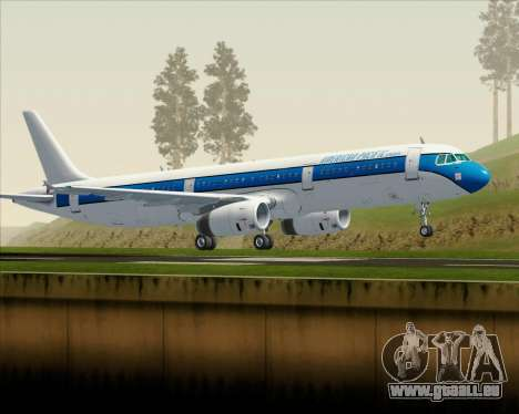Airbus A321-200 American Pacific Airways für GTA San Andreas linke Ansicht