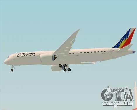 Airbus A350-900 Philippine Airlines für GTA San Andreas Unteransicht