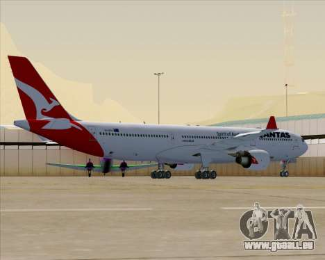 Airbus A330-300 Qantas (New Colors) pour GTA San Andreas