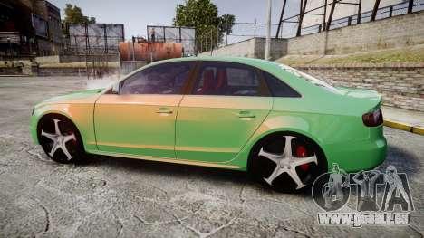 Audi S4 2010 FF Edition pour GTA 4 est une gauche