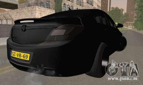 Opel Insignia für GTA San Andreas linke Ansicht