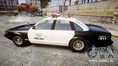 Vapid Police Cruiser MX7000 pour GTA 4 est une gauche