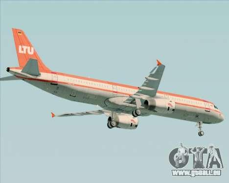 Airbus A321-200 LTU International pour GTA San Andreas vue de dessous